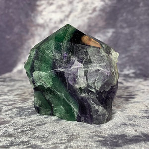 Fluorite Specimen Polished Point - Crystal Inclusions