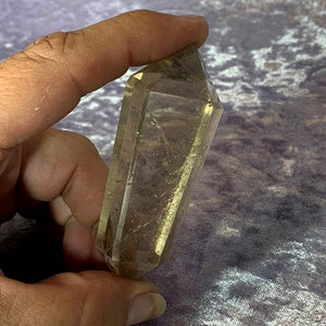 Smoky Quartz Double Terminated Point 57g