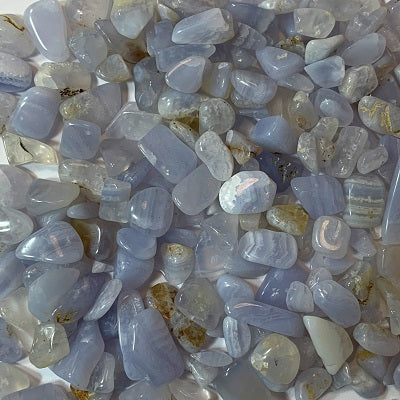 Blue Lace Agate Chips 50g