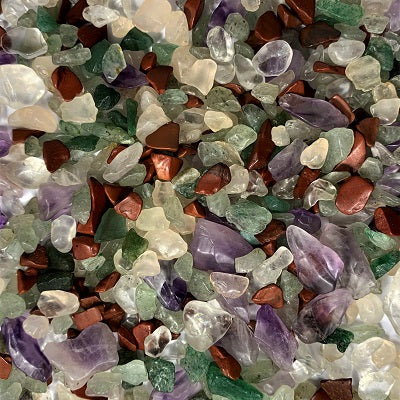 Mixed Crystal Chips 100g Crystal Inclusions.