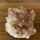 Super 7 Quartz Cluster 590g Crystal Inclusions.