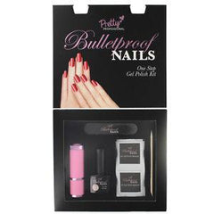 Pretty Bulletproof Nails One Step Gel Polish Kit-Naked
