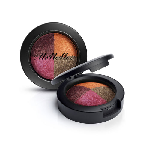 Eye Inspire Quad Baked Eyeshadow - Fire