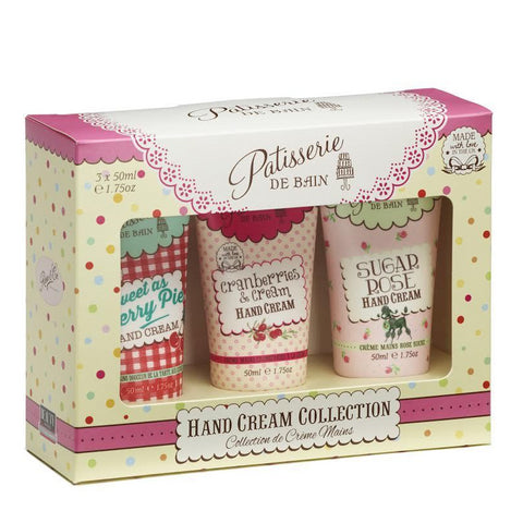 PATISSERIE DE BAIN HAND CREAM GIFT PACK - BERRY COLLECTION