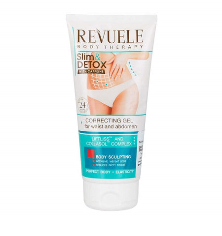 Revuele Slim & Detox Correcting Gel For Waist And Abdomen