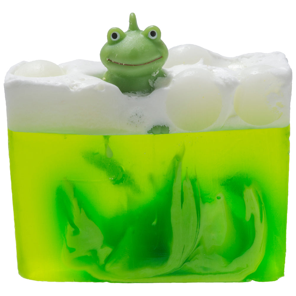 It's Not Easy Being Green Soap Slice
