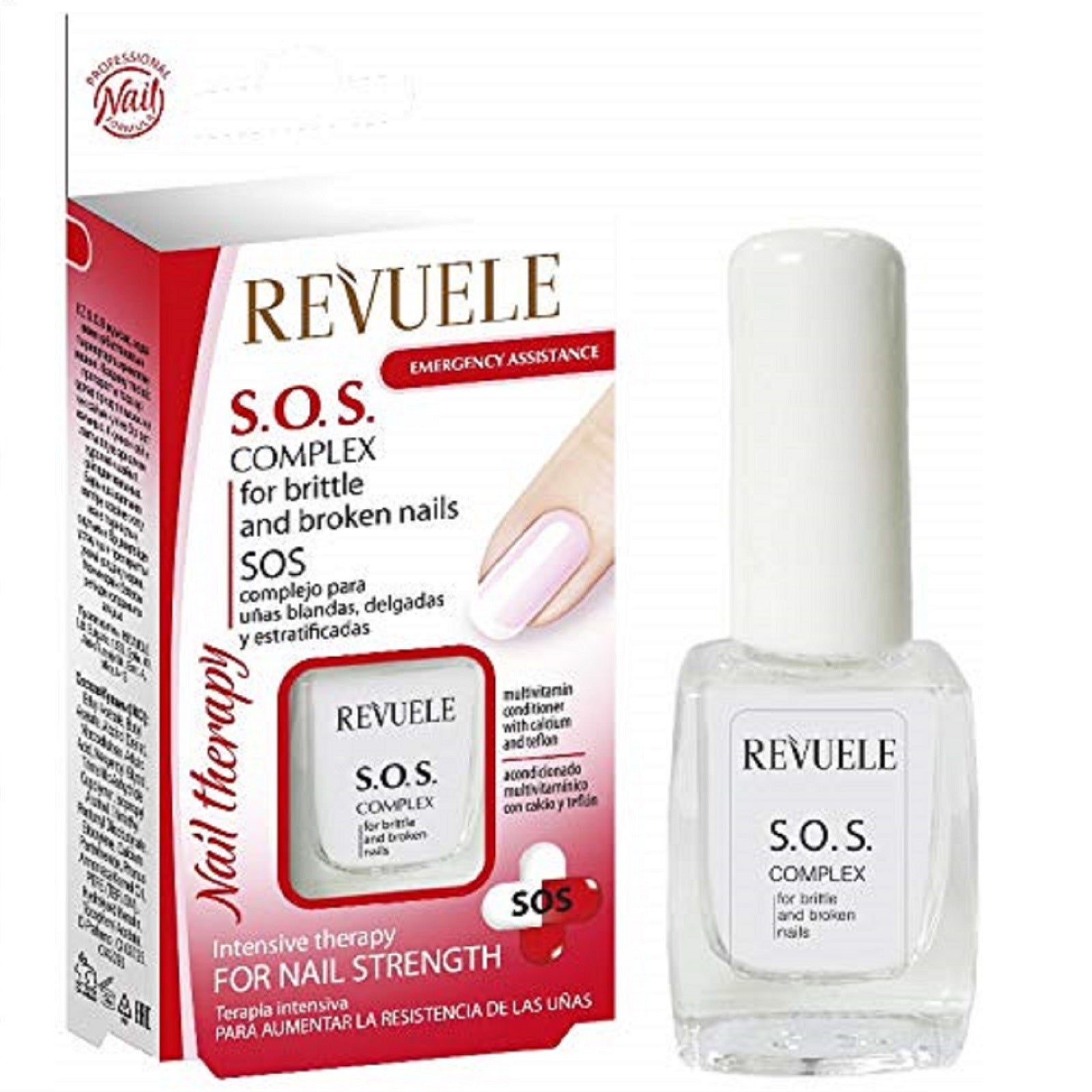 Revuele S.O.S. Complex For Brittle And Broken Nails