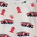 Fire Trucks Shorts Set