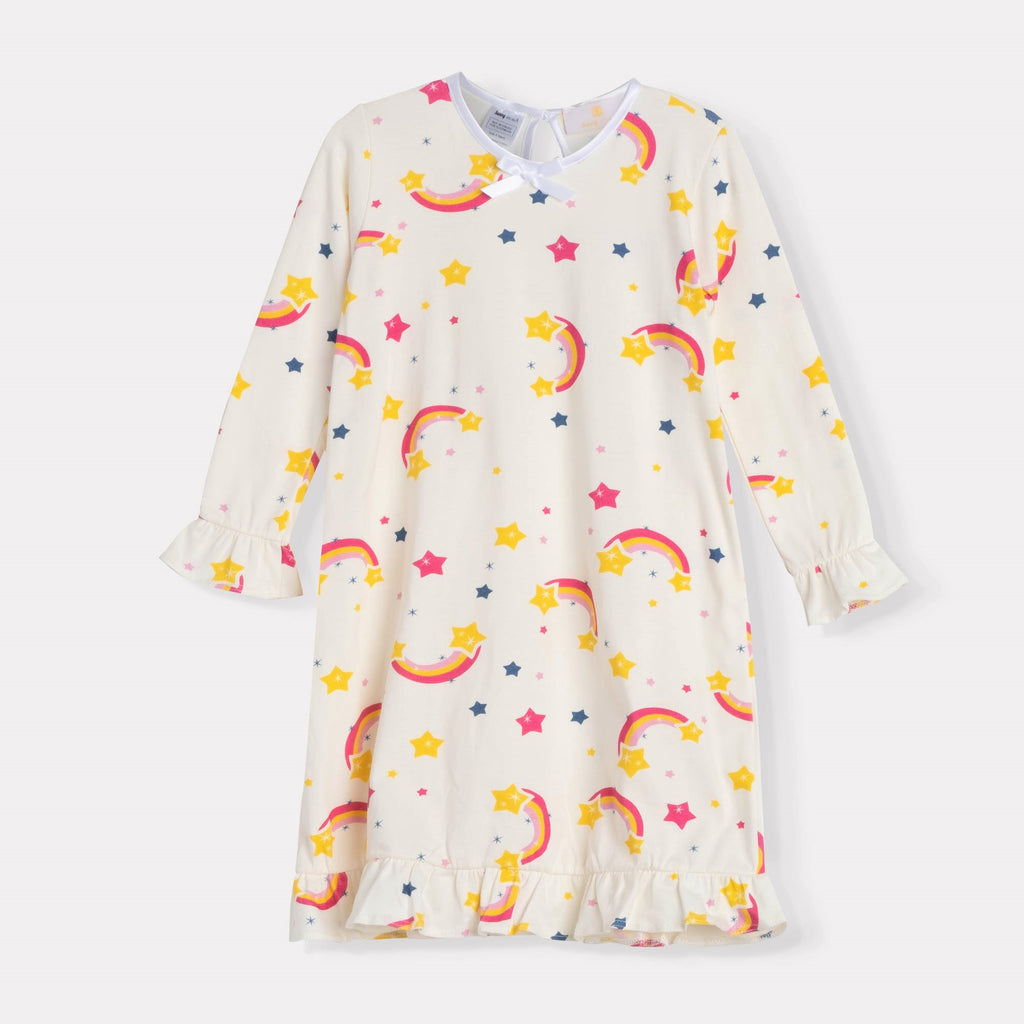 Rainbows Ruffle Daywear Dress