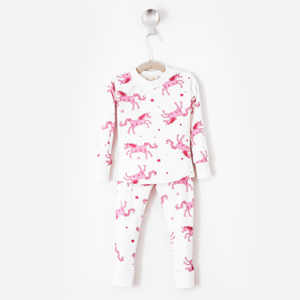 Unicorns Pajama Set