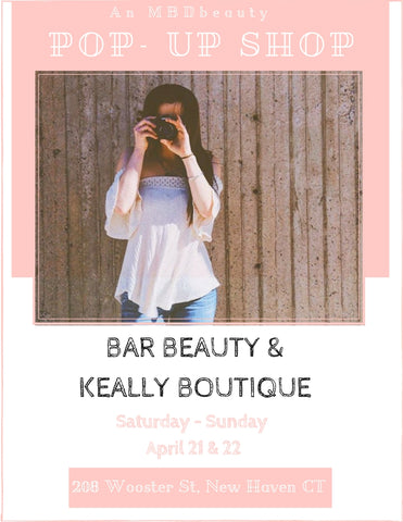 boutique and beauty pop up shop event in new haven CT