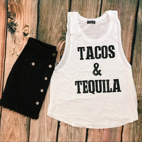 Taco's and Tequila Graphic tee