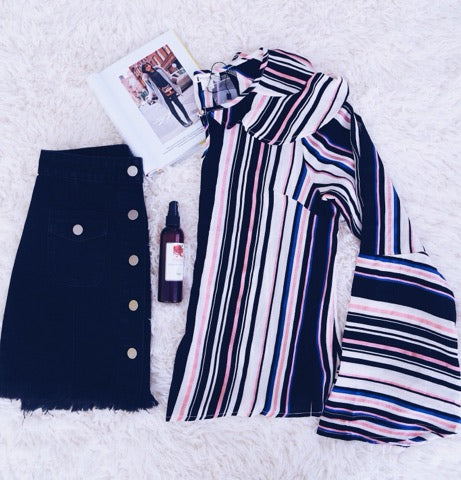 Stripes and Bells - Keally Boutique