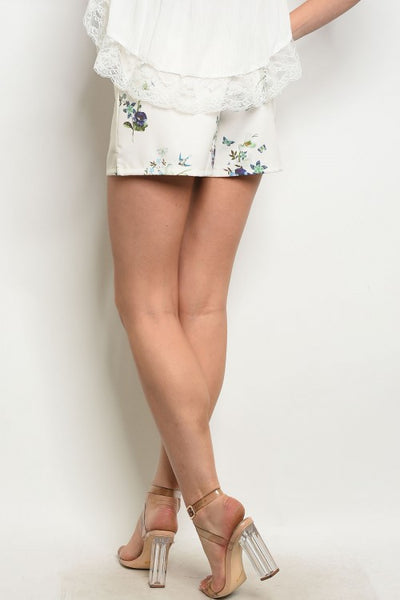 Floral Flowy Shorts - Keally Boutique