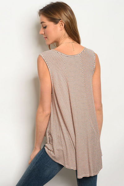 Forever Stripes Tank - Keally Boutique