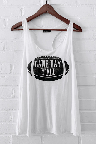Game Day Y'all Tank Top