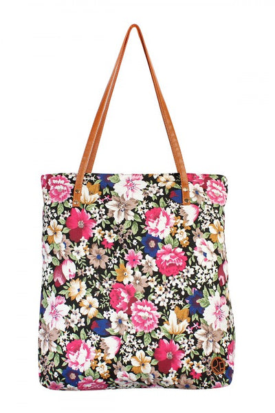 Floral Tote Bag - Keally Boutique