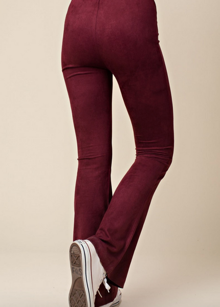 Burgundy Bell Bottoms