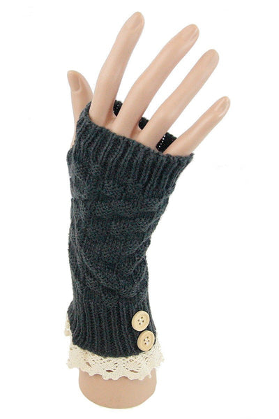 Knitted Arm Warmer - Keally Boutique