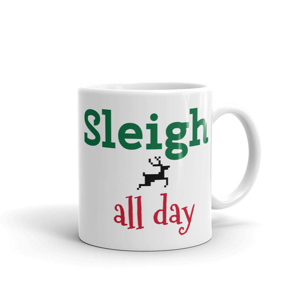 Sleigh All Day Mug - Keally Boutique