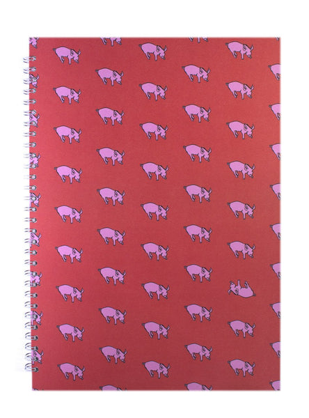 Patterned - Rooster Red/63