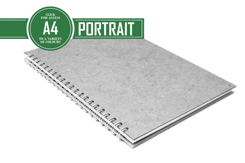 A4 Classic Bergung Pig - 100% Recycled White 150gsm Cartridge Paper 35 Leaves Portrait