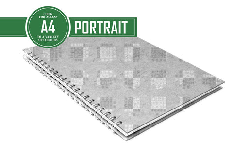 A4 Posh Eco Album Black 270gsm Paper 15 Leaves Portrait - Extra Large Wires (Pack of 5)