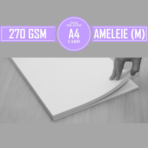 A4 270gsm Matte Ameleie Watercolour Paper (Pack of 10 Sheets)