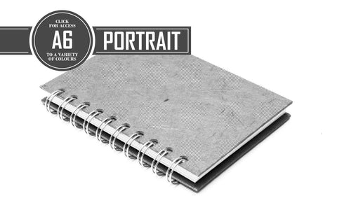 A6 Classic Notebook 80gsm Lined Paper 70 Leaves Portrait (Pack of 5)