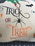 Halloween Trick or Treat Pillow
