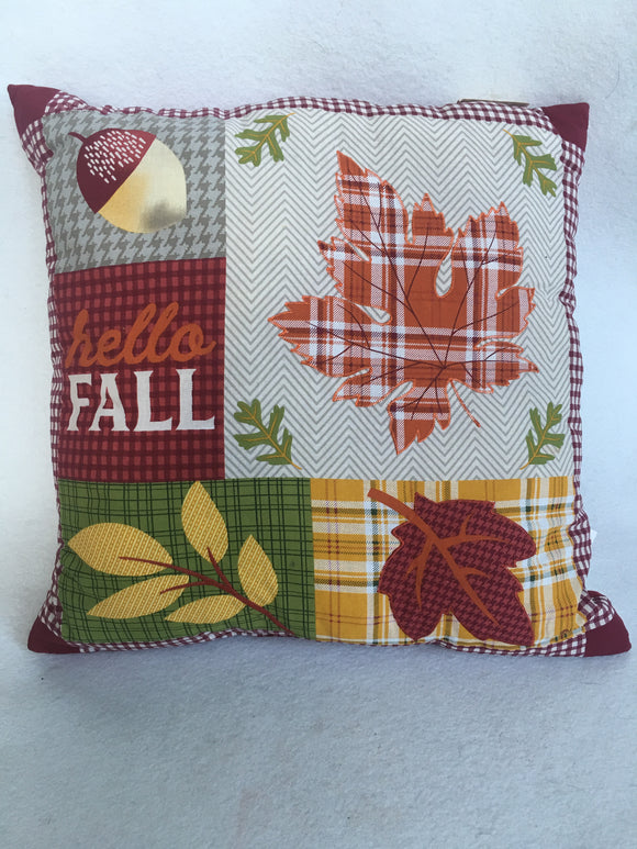 Harvest Hello Fall Pillow