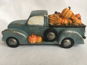 Harvest Family Farm Truck Carrying Pumpkin