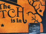 Halloween The Witch Is In Accent Rug