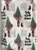 Christmas Baby It's Cold Outside Plush Blanket Throw