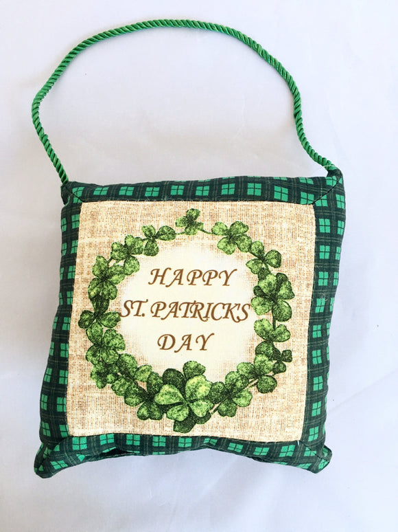 Saint Patrick's Day Hanging Small Pillow
