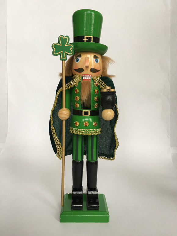Saint Patrick's Day Soldier Nutcracker