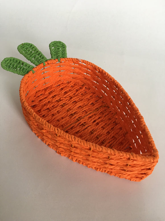 Easter Wicker Carrot Basket