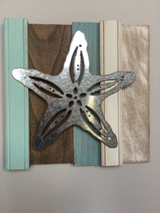 Beach Star Fish Sign