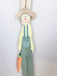 Easter Long and Narrow Wall Hanging Bunny