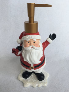 Christmas Welcoming Santa Soap Dispenser