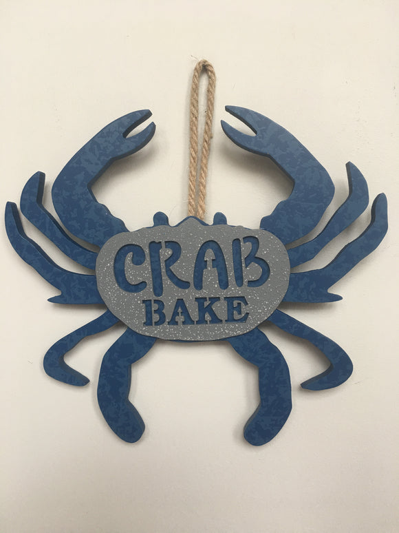Beach Crab Bake Wall Hanging