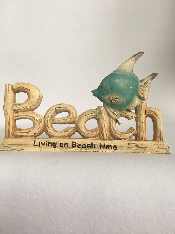 Beach Living on Beach Time Block Sitter