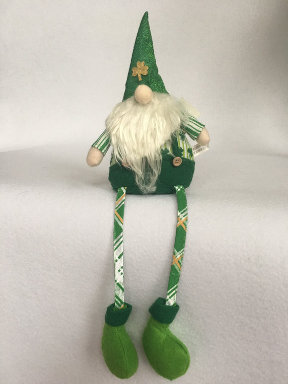 Saint Patrick's Day Leprechaun Gnome Figure