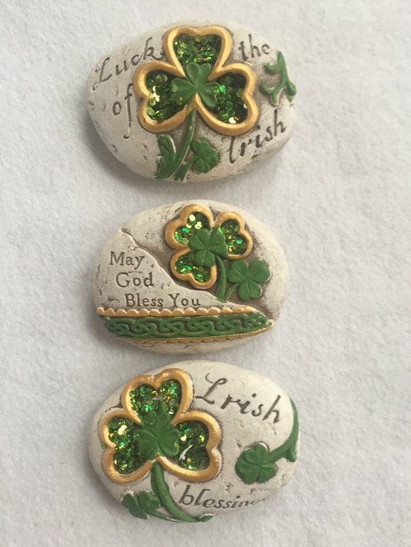 Saint Patrick's Day Decorative Rock