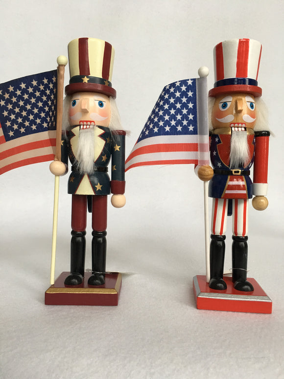 Patriotic Small Nutcracker