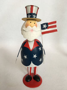 Patriotic Bobble Head Jolly Uncle Sam
