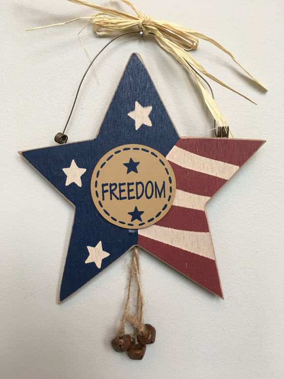 Patriotic Freedom Star Sign