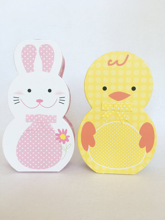 Easter Decorative Bunny or Chick Boxes
