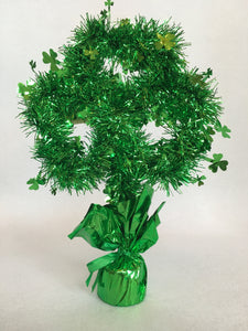 Saint Patrick's Day Tinsel Shamrock Decoration