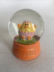 Easter Miniature Chick Snow Globe